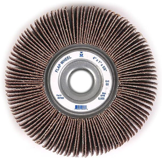 """6/"""" x 1/"""" x 1/"""" Inch 40 Grit Bench Pedestal Grinder Premium Unmounted Flap Wheel"""