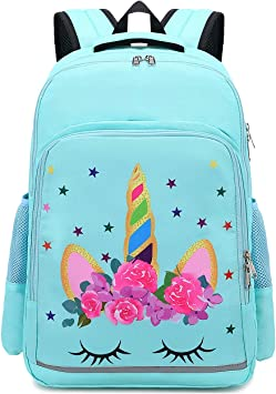 Unicorn Backpack 16 Inches Casual Girl Fashion School Bag
