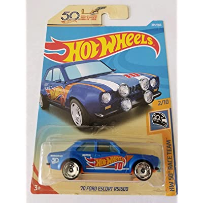 Hot Wheels 2020 Hw 50th Race Team 2/10 - '70 Ford Escort RS1600: Toys & Games