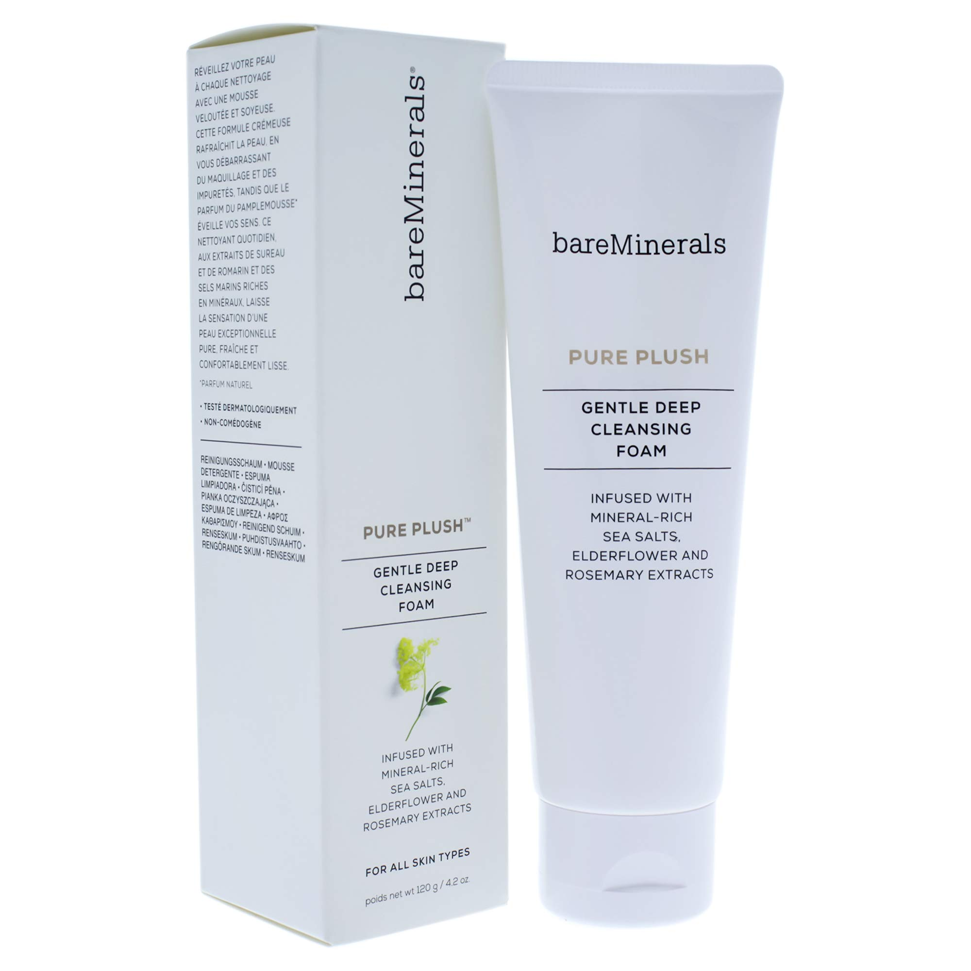 768bcb8771d9 Amazon.com  bareMinerals Pure Plush Deep Cleansing Foam