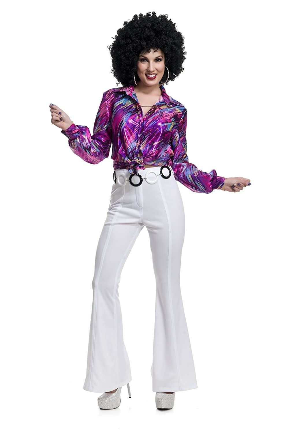 70s Costumes: Disco Costumes, Hippie Outfits  1970s Disco Pants $49.99 AT vintagedancer.com