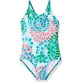 Kanu Surf Girls' Daisy Beach Sport 1-Piece Swimsuit