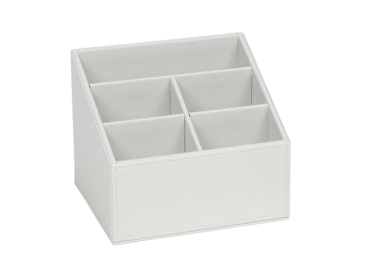 Andrea AX62315 /Étui pour t/él/écommandes imitation cuir Blanc