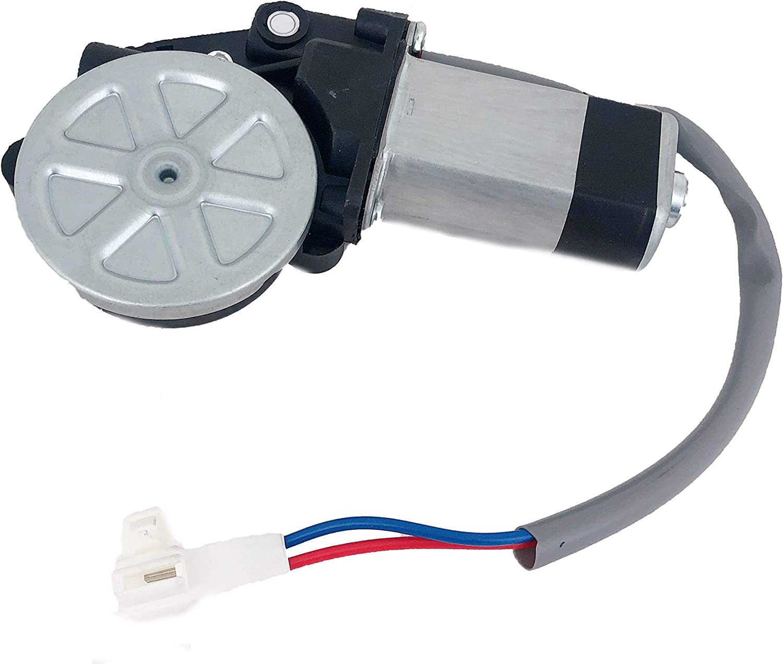 Fits 96-00 Rav4-4Door Right Front Power Window Regulator With Motor 2 Pin Conn