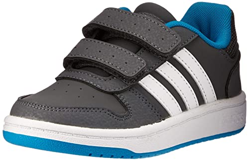 adidas Hoops 2.0 CMF CC, Chaussures de Basketball Mixte Enfant