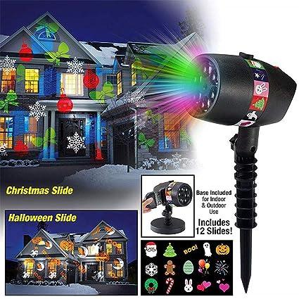 Amazon.com: FOONEE Christmas Projector Lights,LED Waterproof ...