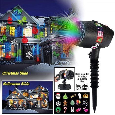 FOONEE Proyector de Luces Navideñas, Luces LED a Prueba de Agua 5 ...