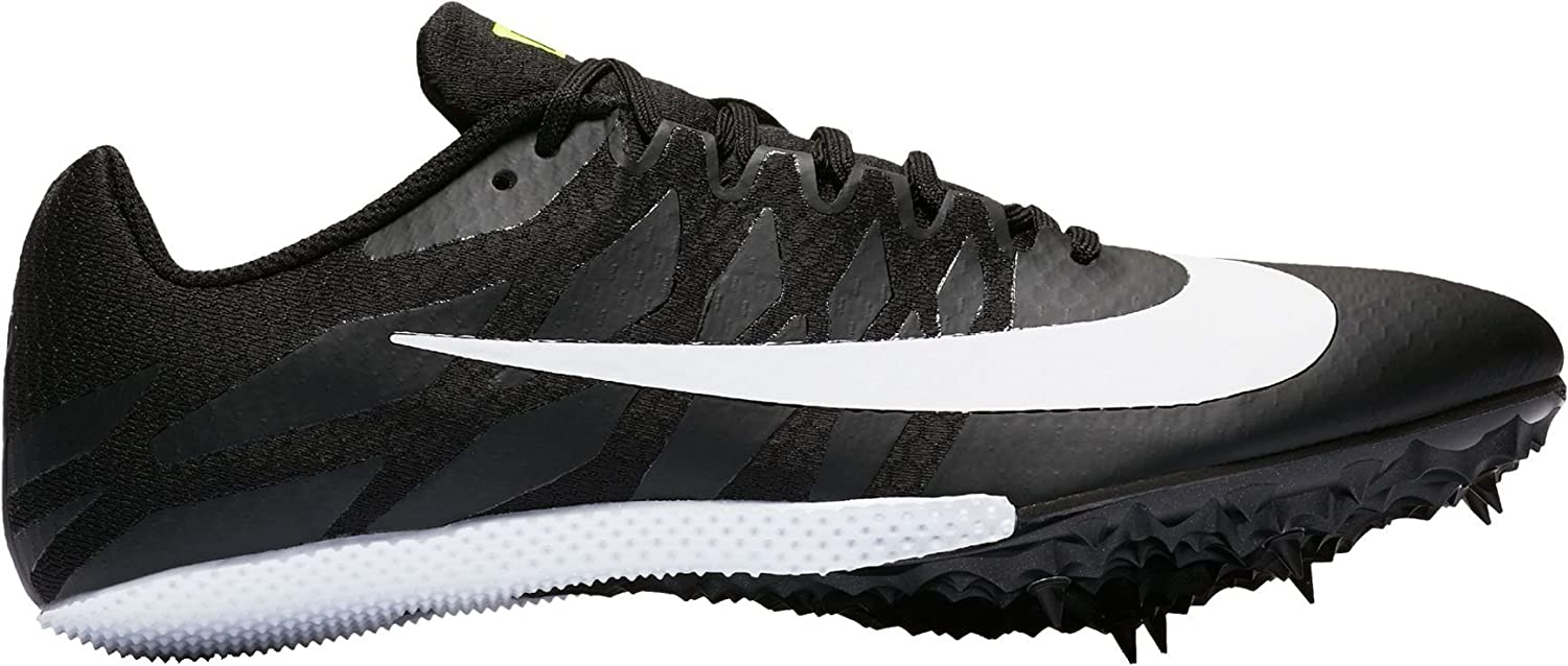 info for 7a98e 1d716 Amazon.com   Nike Mens Zoom Rival S 9 Track and Field Shoes Black White 2 D    Track   Field   Cross Country