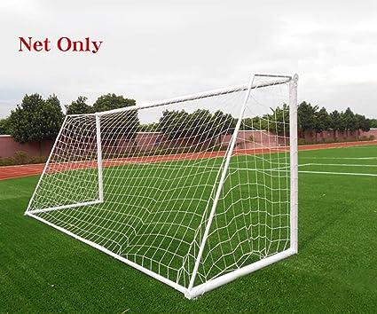 21814c248 Soccer Goal Net Football Polyethylene Training Post Nets Full Size (6 x 4FT)