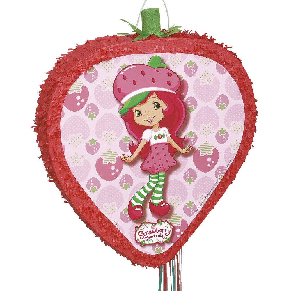Strawberry Shortcake Pinata, Pull String