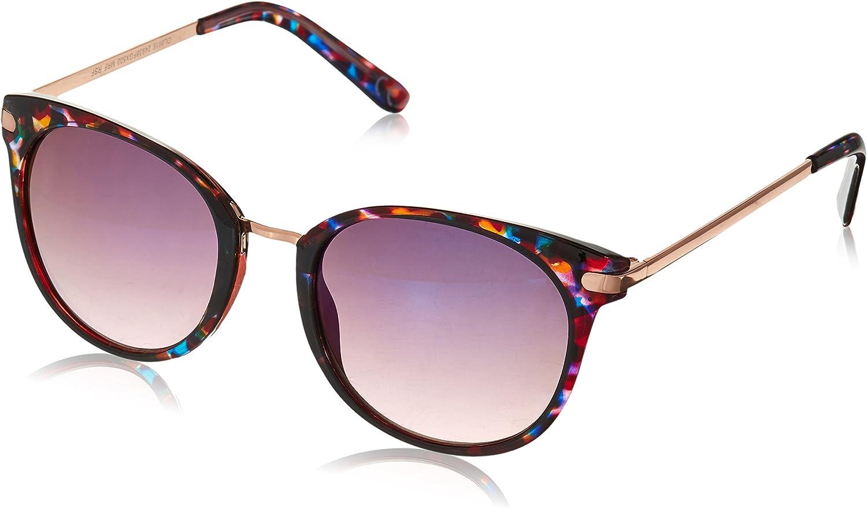 Foster Grant Women/'s Purple Tortoise Polarized Sunglasses 100/% UVA//UVB MSRP $25