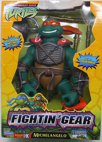 Amazon.com: Teenage Mutant Ninja Turtles 12 inch plenamente ...