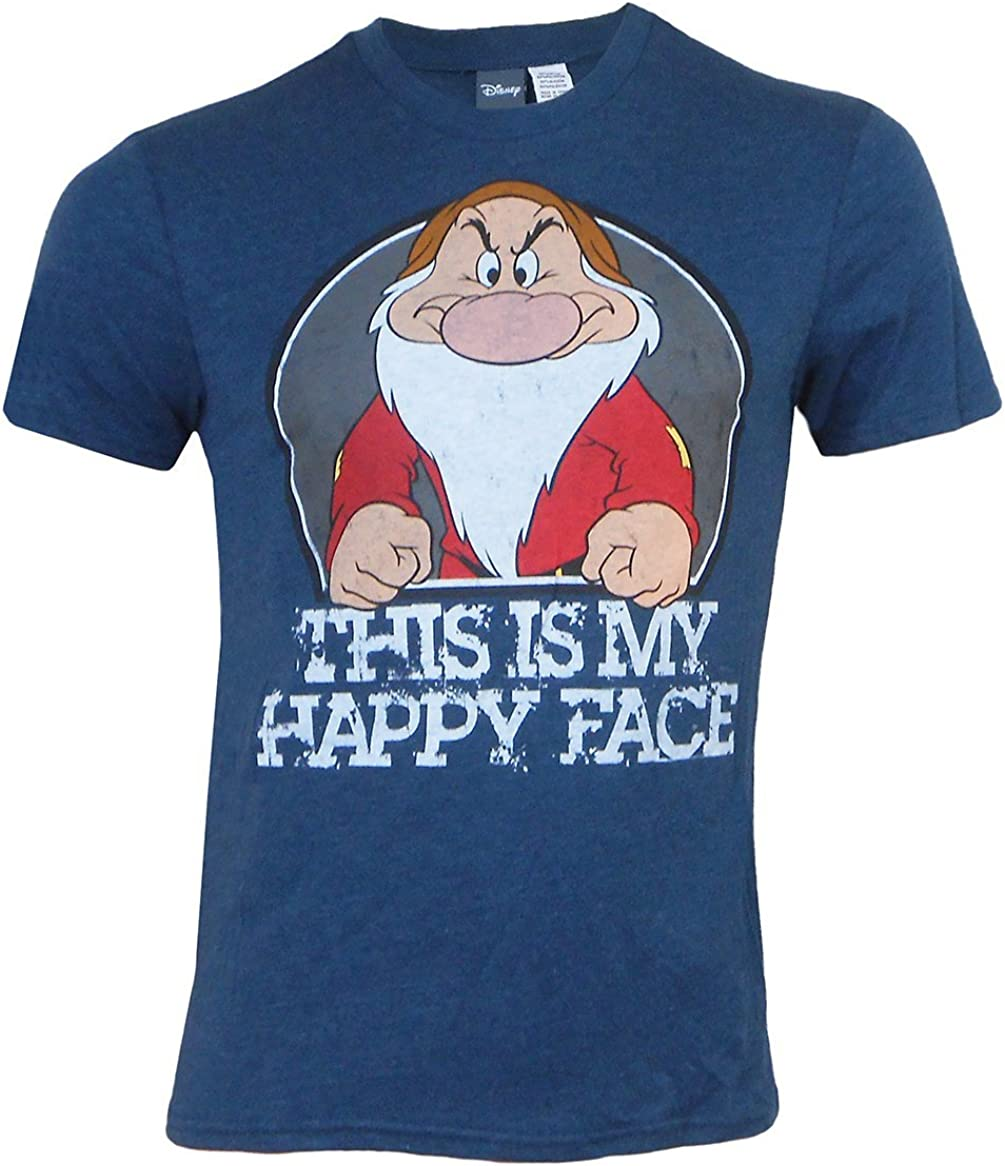 Donald Duck Angry Grumpy This Is My Happy Face T-shirt