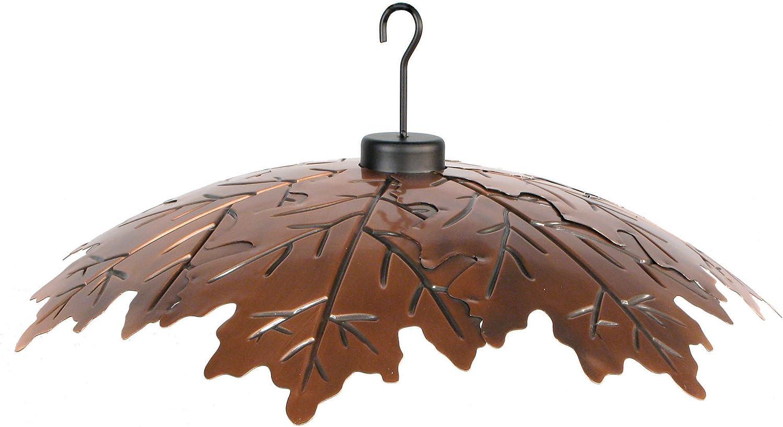 Woodlink Brushed Copper 18 Weather Shield Model COPLEAF18