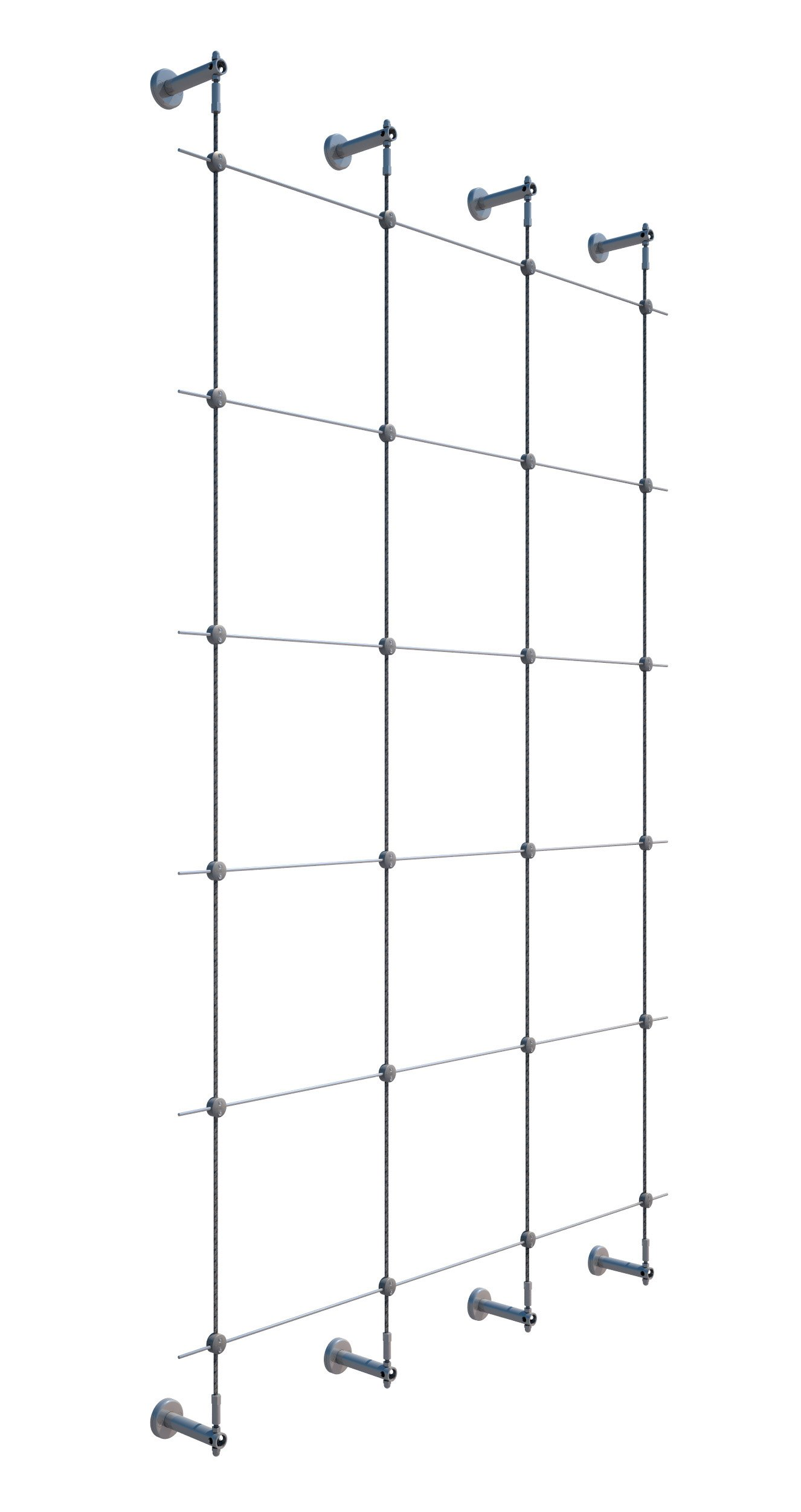 96 in. Wire Rope Plant Trellis System by Jakob Rope Systems