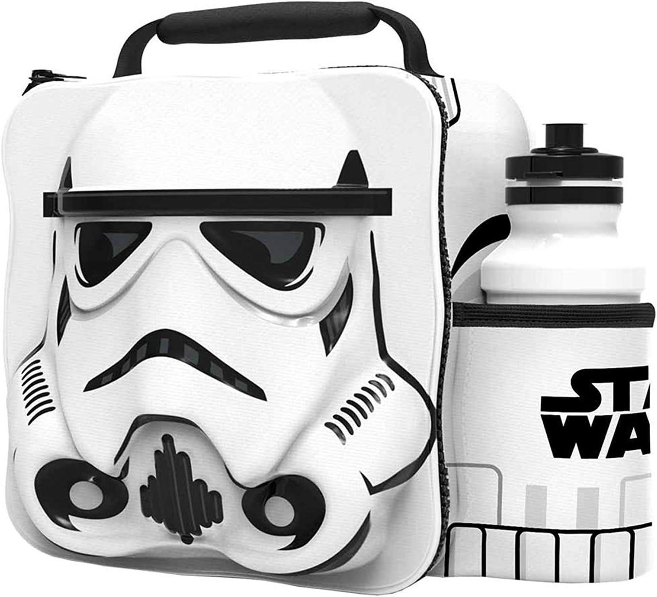 BB8 Kinder Kinder 3D Lunchbox Tasche mit Sport Wasserflasche