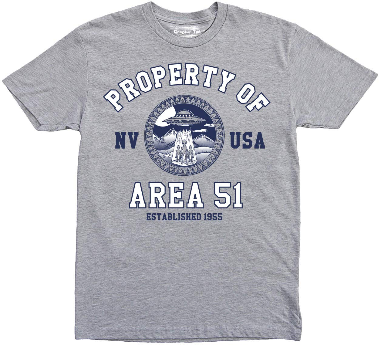 Area 51 T Shirt, Property Of Area 51 T-shirt, Ufo T-shirt