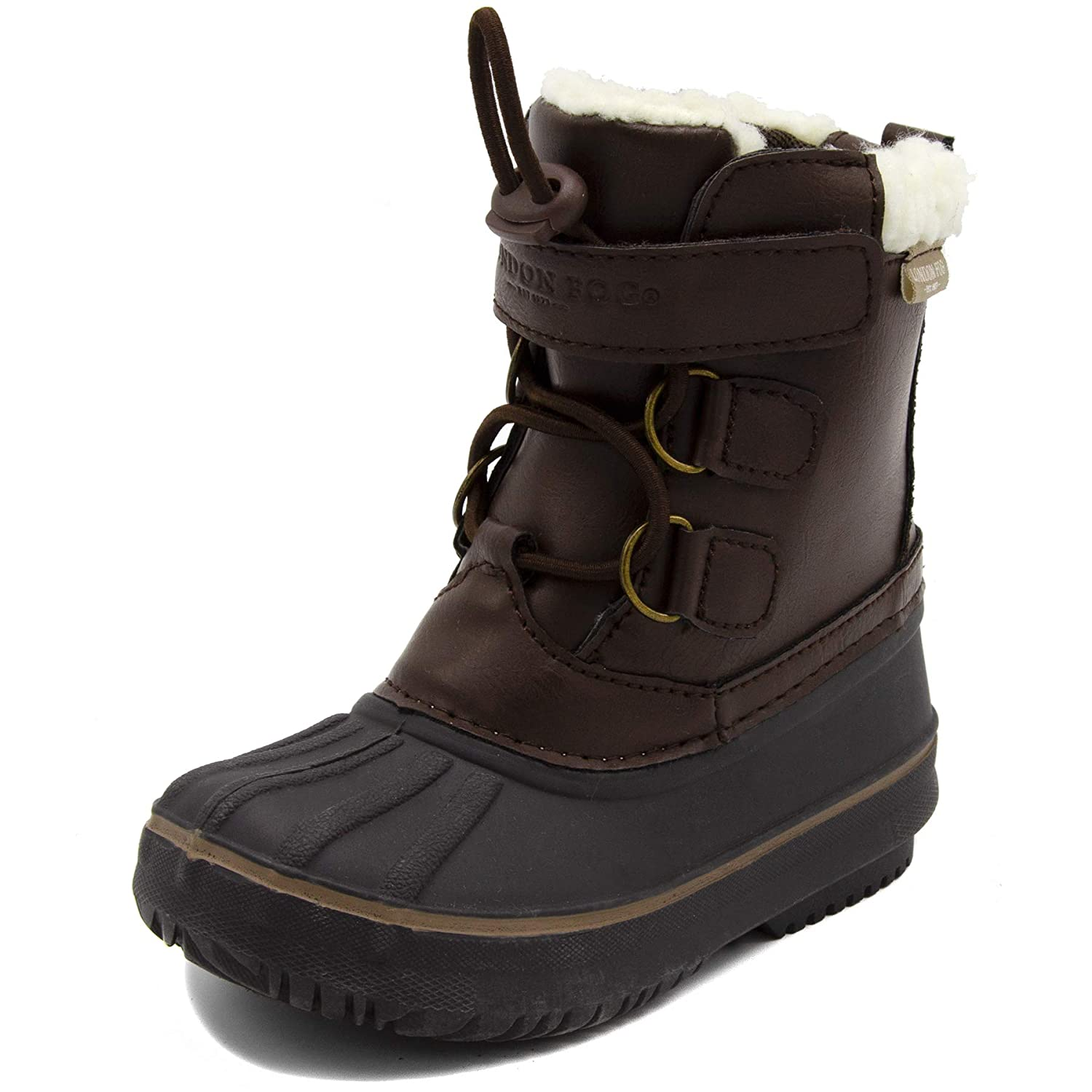 London Fog Boys Oxford Toddler Cold Weather Snow Boot LFK-OXFORD