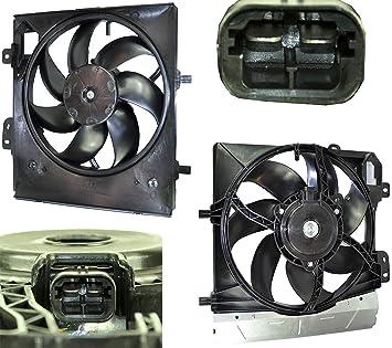 D2P para Citroen C2 1.1, 1.4, 1.6 HDI/VTS Radiador de refrigeración ...