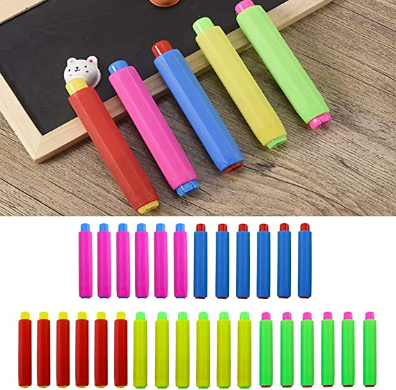 1Pcs Metall Kreidehalter Teacher/'S Blackboard Saving Chalk Clip Clutch, T4M6 1X