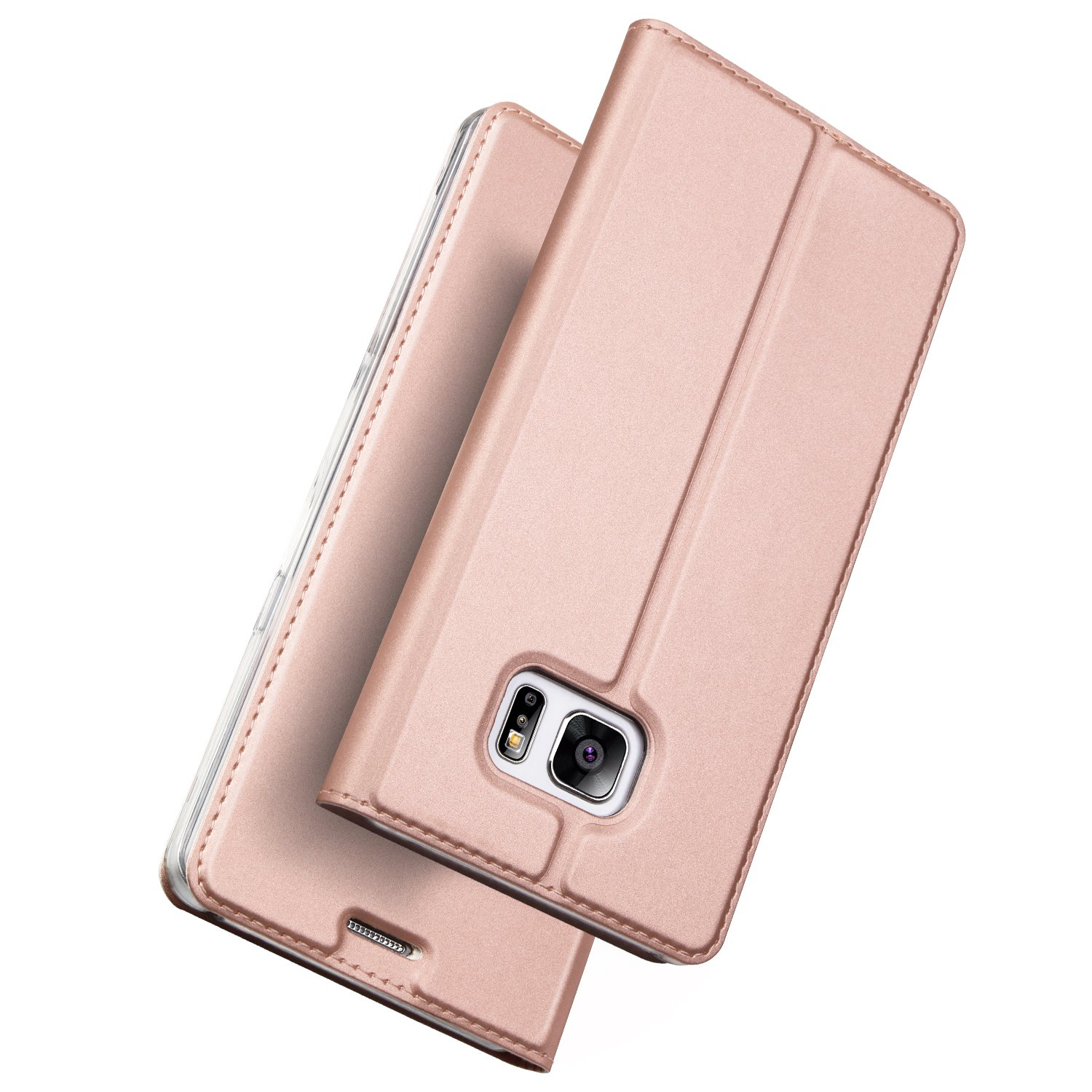 Case for Samsung Galaxy S7,Leather PU Wallet Folio Flip Protective Cover with Card Holder Kickstand for S7 Edge
