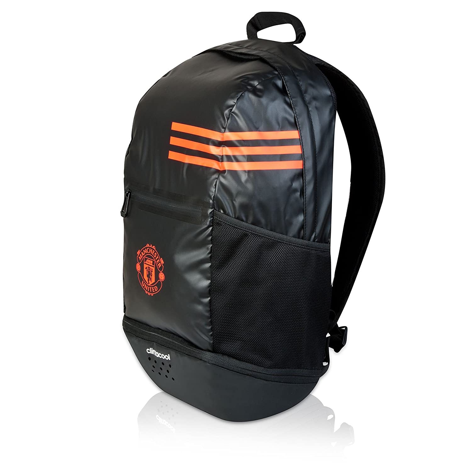 adidas man bag. adidas mufc clima polyester backpack (black): amazon.in: sports, fitness \u0026 outdoors man bag