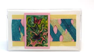 product image for Vintage Butterfly Checkbook Made in the USA
