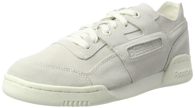 Reebok Workout Lo Plus Fbt, Zapatillas para Mujer 39 EU Blanco (Chalk/Snowy Grey)