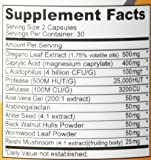 Candida Cleanse (Non-GMO) 120 Capsules: Double