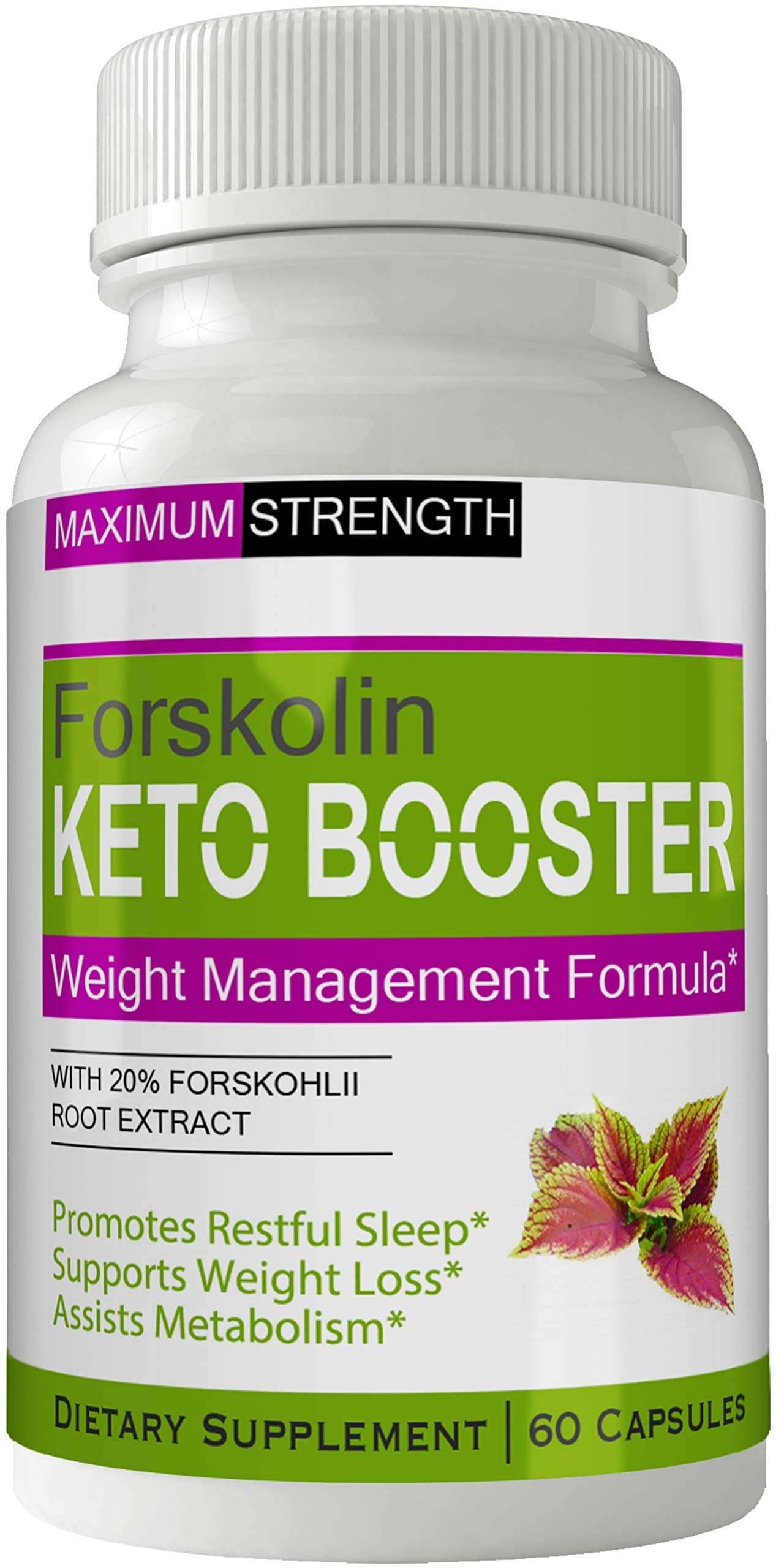 Keto Boost Forskolin for Weight Loss Pills Tablets Supplement - Capsules with Natural High Quality Pure Forskolin Extract Diet Pills