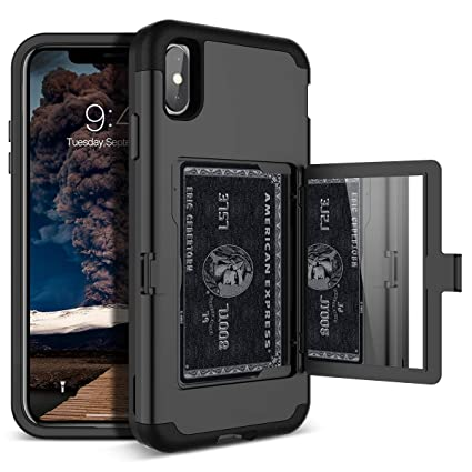 Amazon.com: Funda tipo cartera para iPhone Xs Max ...