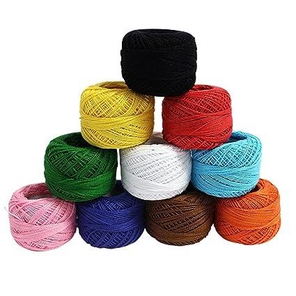 Kurtzy Cotton Yarn Thread Set