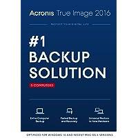 Acronis True Image 2016 for 5 PCs