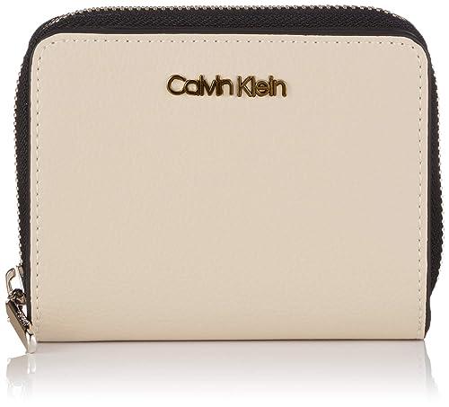 Calvin Klein - Avant Medium Zip Wflap, Carteras Mujer, Gris ...
