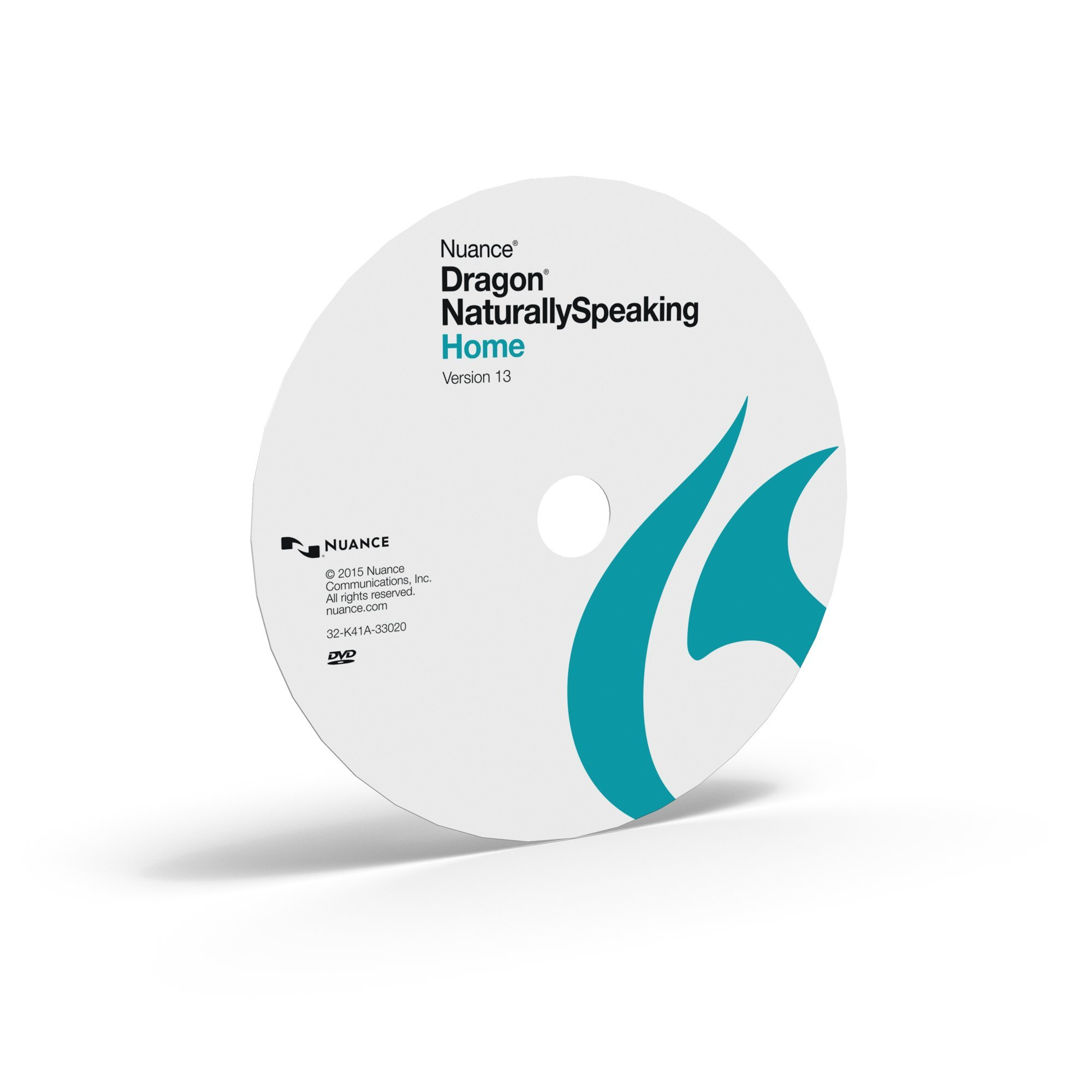 Dragon NaturallySpeaking Home 13, Disc Only by Nuance Dragon
