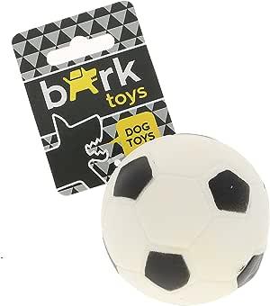 BARK - Pelota de vinilo no tóxico para perros. Juguete de Futbol ...