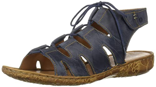 80764e9d783e Josef Seibel Women s Rosalie 39 Sandal Blue 41 Medium EU (10-10.5 ...