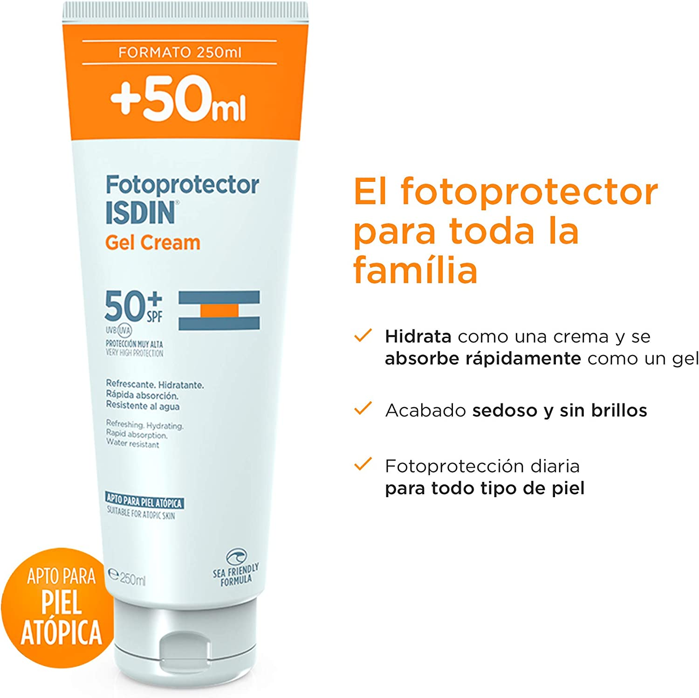 fotoprotector isdin gel crema spf 50+ 250ml