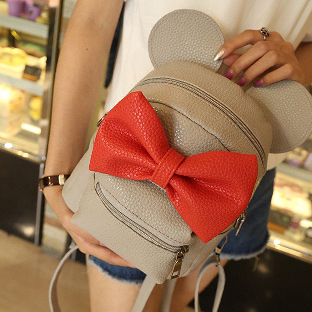 Amazon.com: Farjing Women Mickey Mini Bag Bow Backpack Crossbody Bag Shoulder Bag Phone Coin Bag(One Size,Black: Shoes