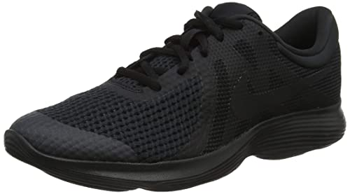 the best attitude 9f22c edbde Nike Revolution 4, Zapatillas de Running para Niños, Negro Black 004, 39 EU