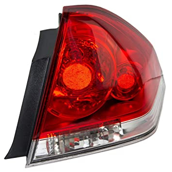 Taillight Tail Lamp Penger Replacement for 06-13 Chevrolet Impala and on