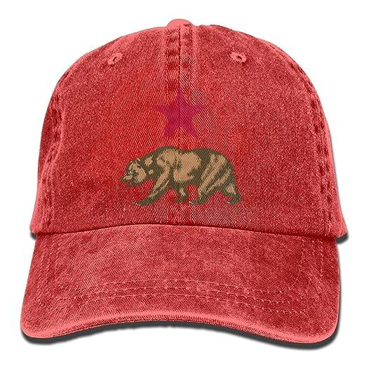 9067ae0e085 ... aliexpress germany men women california star and bear adjustable jeans  baseball cap outdoor sports hat 8ea5f