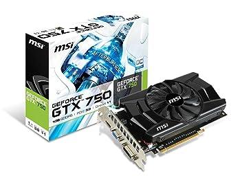 Amazon.com: MSI computadora tarjeta de vídeo N750 – 1 GD5/OC ...