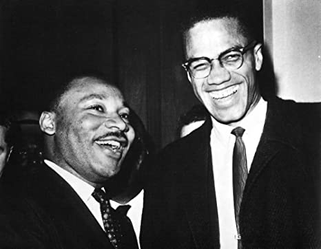 ART PRINT The Meeting Washington DC Dr Martin Luther King Jr and Malcolm X