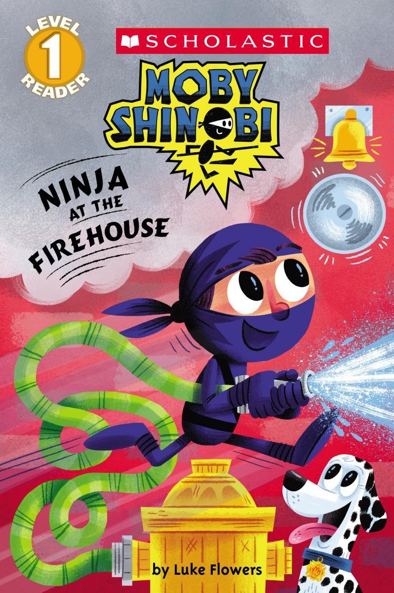 Amazon.com: Ninja at the Firehouse (Moby Shinobi: Scholastic ...
