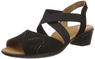 ARA Women's Lugano 1235764 Ankle Strap Sandals: Amazon.co.uk