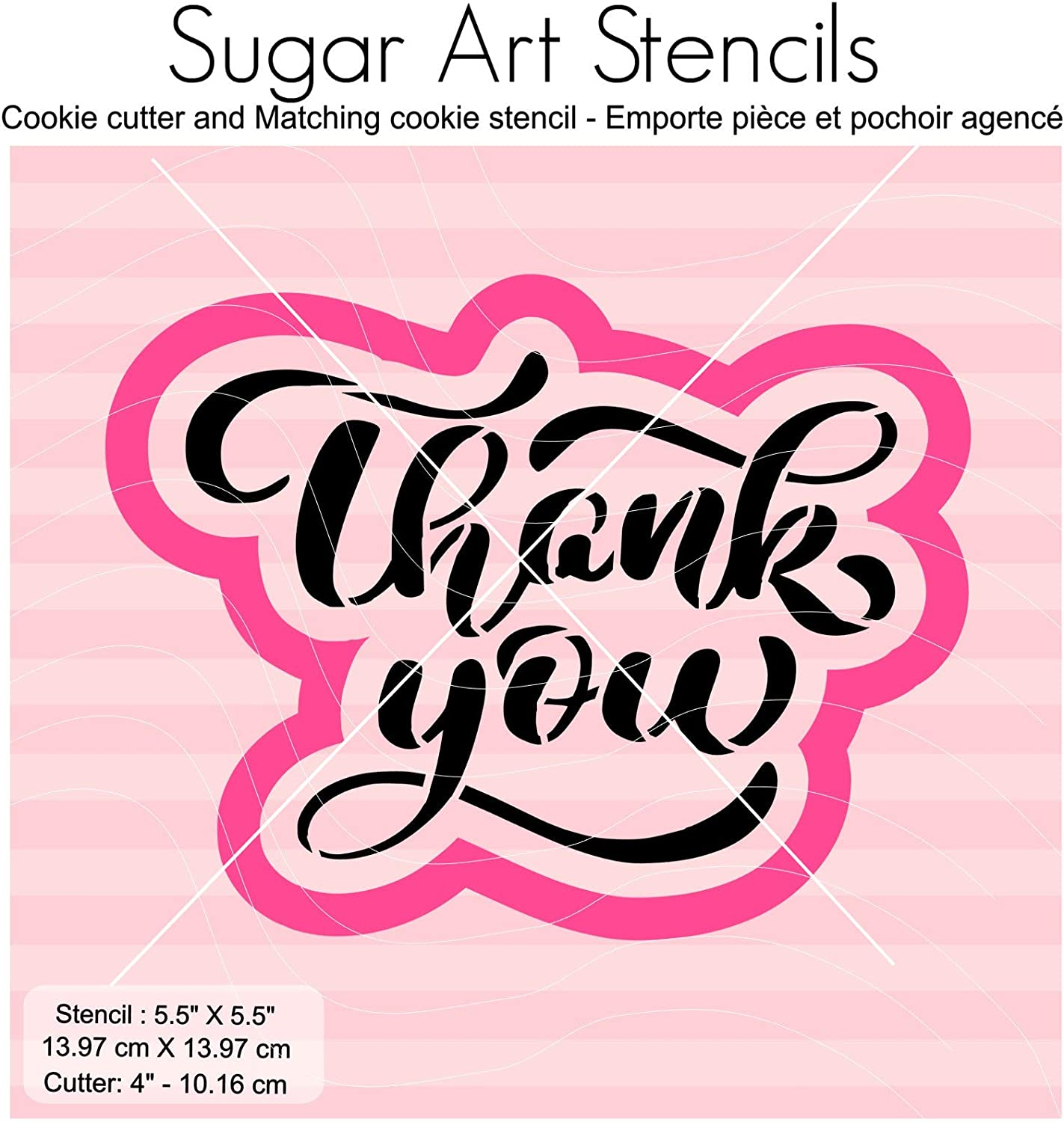 Cookie Stencil Hocus Pocus Hand Lettered Cutter and Stencil FAST SHIPPING!! Fondant Cutter. Cookie Cutter