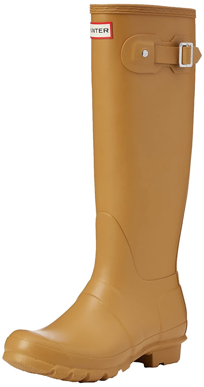 Hunter Women's Original Tall Rain Boot B015V1QIF8 7 B(M) US|Burnt Sulphur