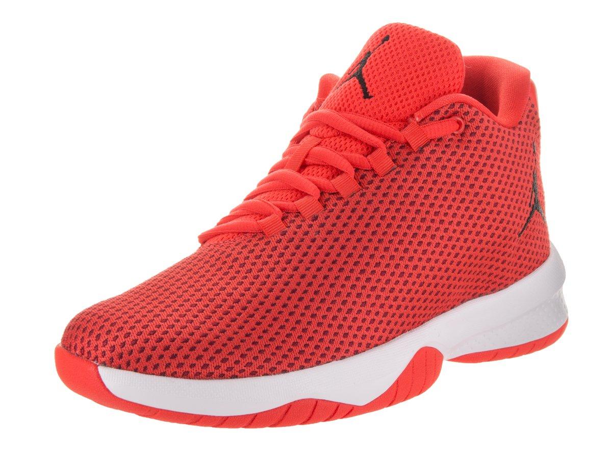 Jordan Nike Kids B. Fly BG Max Orange/Black Gym Red White Basketball Shoe 4 Kids US