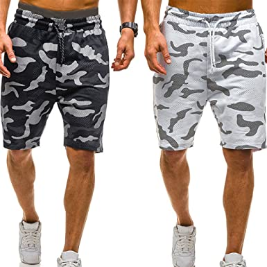 Amazon.com  vermers Mens Summer Casual Cargo Shorts 2018 Camouflage ... b168c2ef3cc